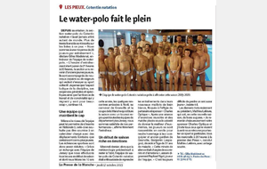 Record de licenciés pour la section water-polo....